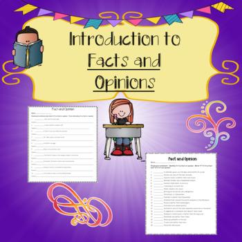 No-Prep - Fact and Opinion
