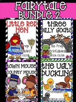No Prep Fairy Tales BUNDLE #2