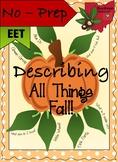 No-Prep Fall Describing Graphic Organizer! - EET