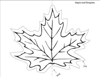 No Prep Fall Leaf Pop-Up Activity