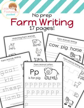 No Prep Farm Writing