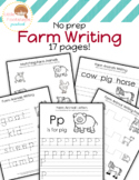 No Prep Farm Writing