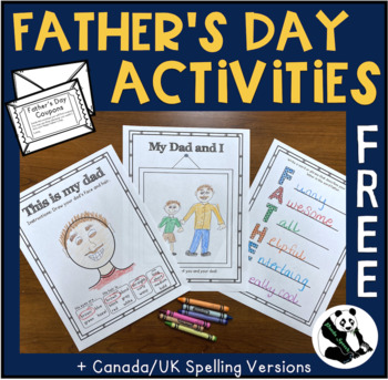 No-Prep Father's Day Activities FREEBIE