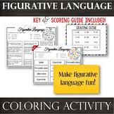 Figurative Language-- Color by Technique Coloring Activity