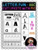 No Prep - Find, Sort, Trace Alphabet Worksheet