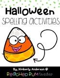 No Prep Frankenstein Word Work Activities - Word Study / Spelling / Sight Words