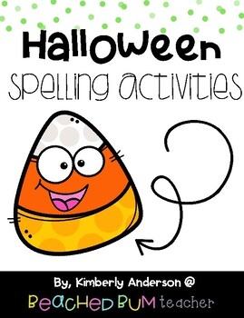 No Prep Frankenstein Word Work Activities - Word Study / S