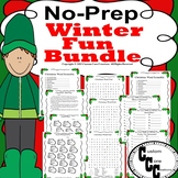 No-Prep Fun Winter Bundle