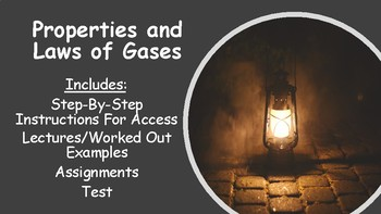 No Prep Gas Laws and Properties