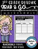 No Prep, Grab-and-Go worksheets: 3rd Grade RL.3.2 Fables,