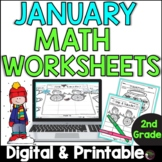2nd Grade Math for January
