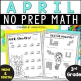 3rd Grade Math for April