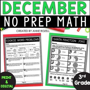 3rd Grade Math for December
