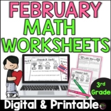 3rd Grade Math for February