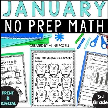 3rd Grade Math for January