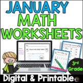 3rd Grade Math for January