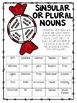 No Prep Grammar Review Centers-- Christmas Themed