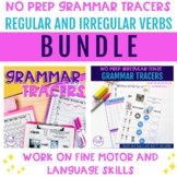 No Prep Grammar Tracer Worksheets to work on Language and