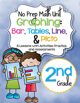 No Prep Graphing Unit   2nd Grade {CCSS}