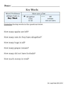 No Prep - Graphs & Word Problems