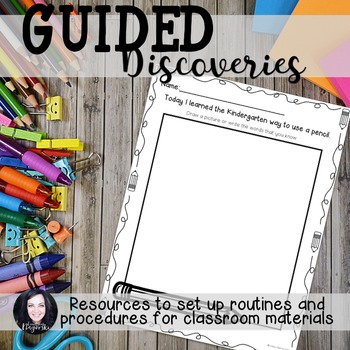 Back to School No Prep Guided Discovery