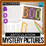 No Prep Halloween Articulation Mystery Pictures