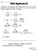 No Prep Halloween Math Bundle