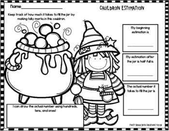 Halloween Math and Literacy Activities~Monster Themed