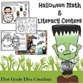 Halloween Math and Literacy Activities | Monster Themed
