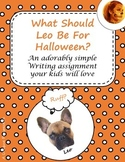 No Prep Halloween Puppy Writing Activity