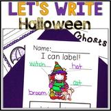 No Prep! Kindergarten Halloween Writing - Journal - Writing Workshop - October