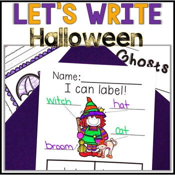No Prep! Halloween Writing - Journal - Writing Workshop -