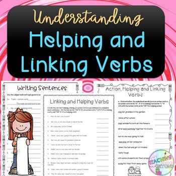 No-Prep - Helping and Linking Verbs