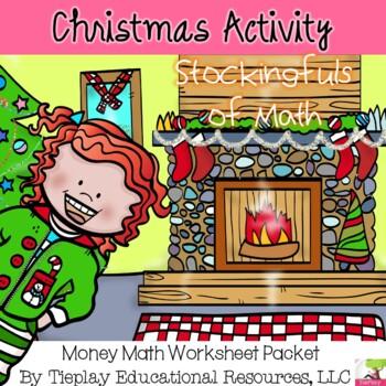 A Christmas Stocking Full of Math Worksheet Fun