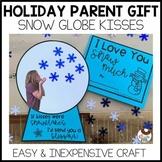 No Prep Holiday Gift Flip Flap Snow Globe Kisses