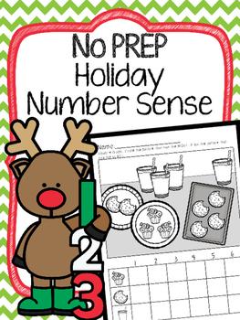 No Prep Holiday Number Sense