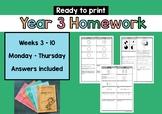 No Prep Homework!