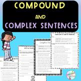 No-Prep - Identifying Compound and Complex Sentences