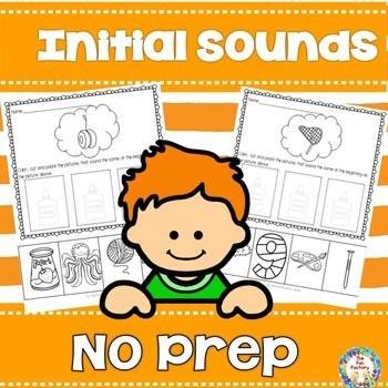 No Prep Initial Sounds
