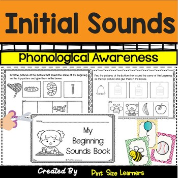 No Prep Initial Sounds Worksheets