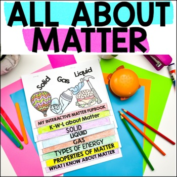 No Prep Interactive Flip Book, States of Matter