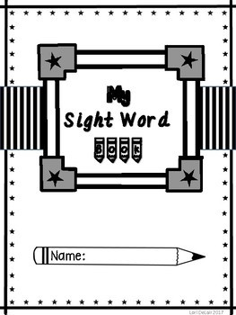 No Prep Interactive Sight Word Worksheets First 100 Fry Words