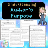 No-Prep - Understanding Author's Purpose