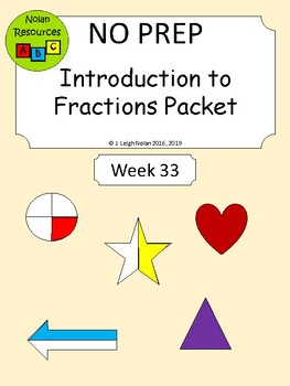 No Prep - Introduction to Fractions