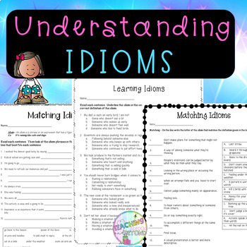 No-Prep - Introduction to Idioms