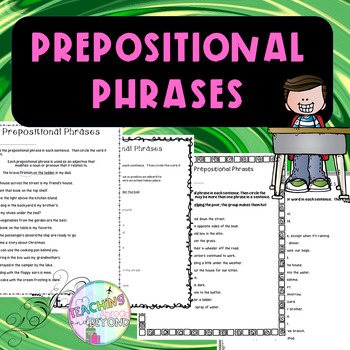 No-Prep - Introduction to Prepositional Phrases