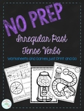No Prep Irregular Past Tense Verbs