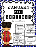 No Prep January Math Stations {Penguins, MLK, & More!}