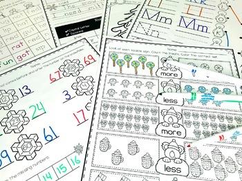 January Activities for Kindergarten