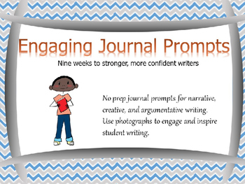 No Prep Journal Prompts: Nine weeks to stronger writers